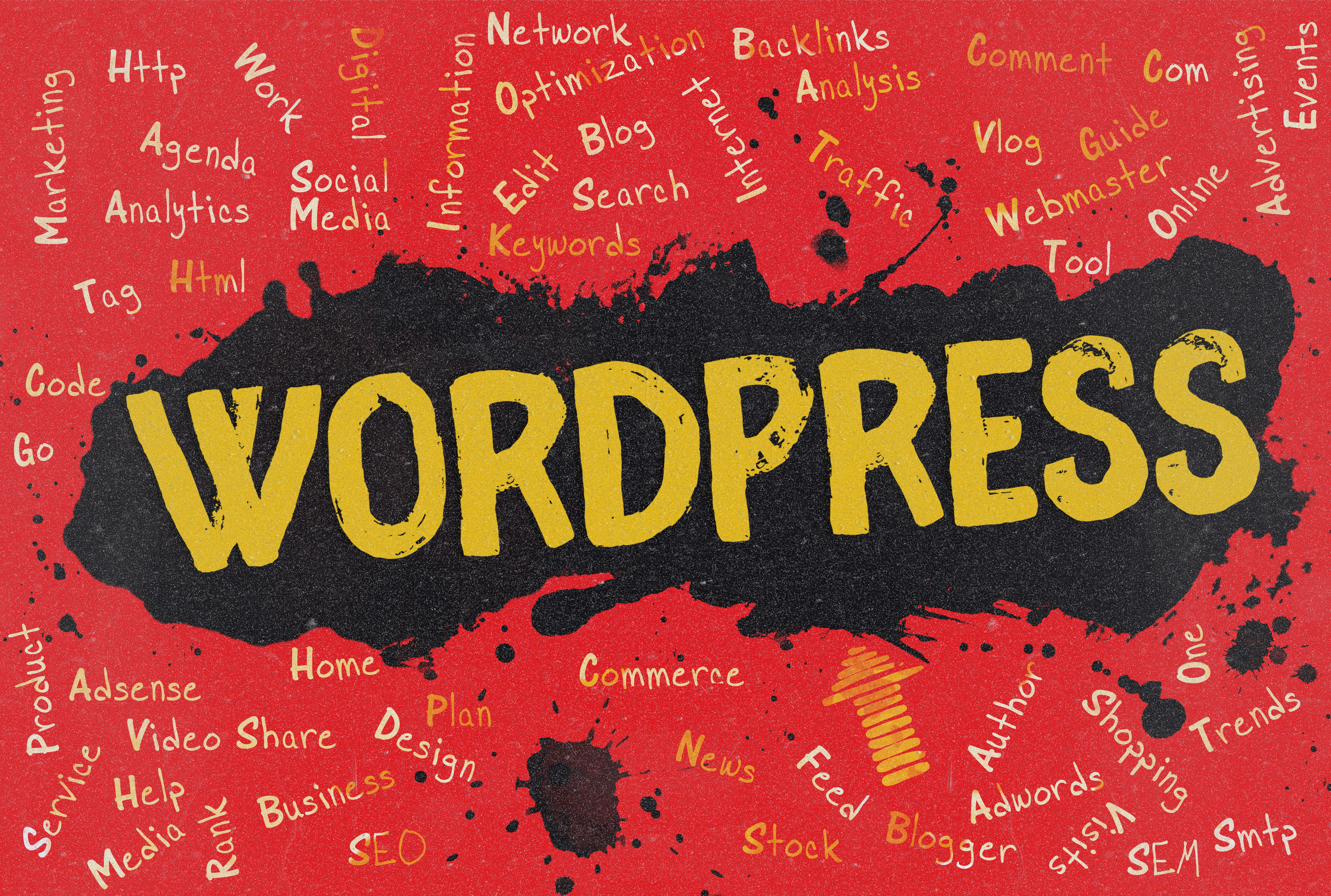 What kinds of websites can be built on WordPress?